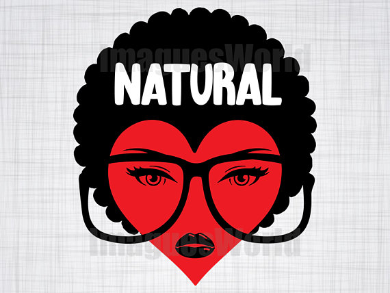 Afro clipart funky. Natural svg woman black