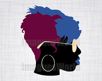 I love my hair. Afro clipart funky