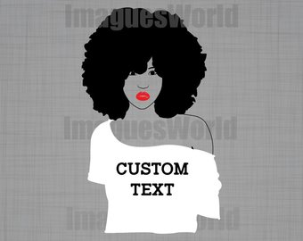 Afro clipart funky. I love my hair
