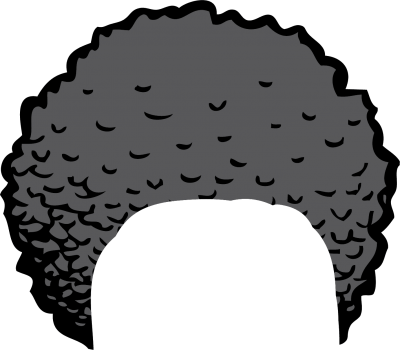 Pictures hair clip art. Afro clipart funky