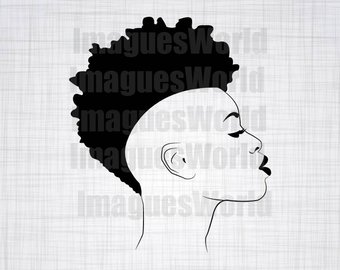 Afro clipart funky. Woman svg black girl
