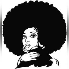 Clip art http www. Afro clipart grey hair