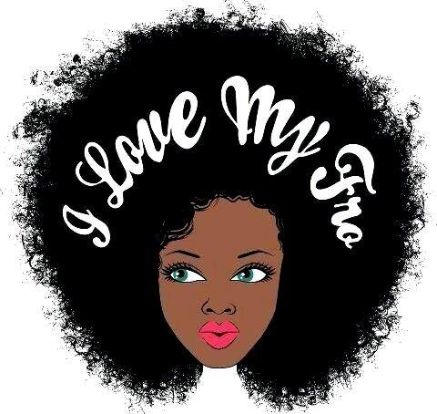 Afro clipart illustration. Black hair natural pencil