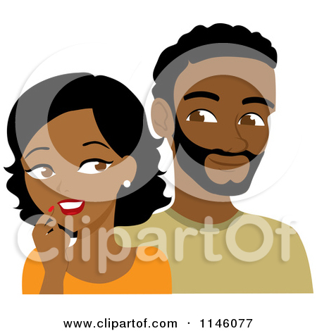 Of african men collection. Afro clipart illustration