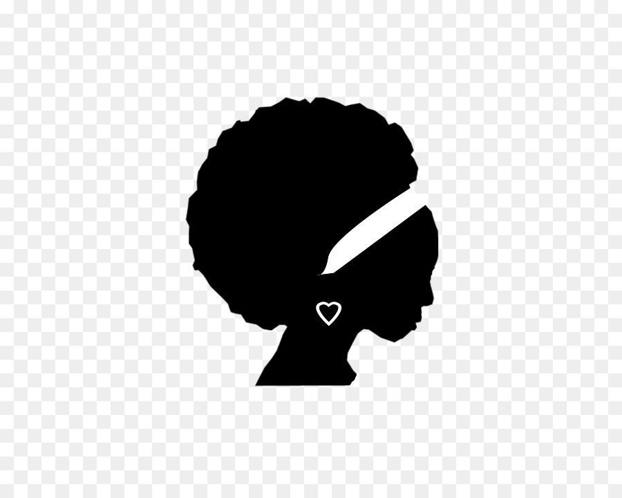 Afro clipart logo. Hair woman bag black