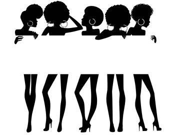 Black woman etsy women. Afro clipart logo