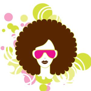 afro clipart natural hair
