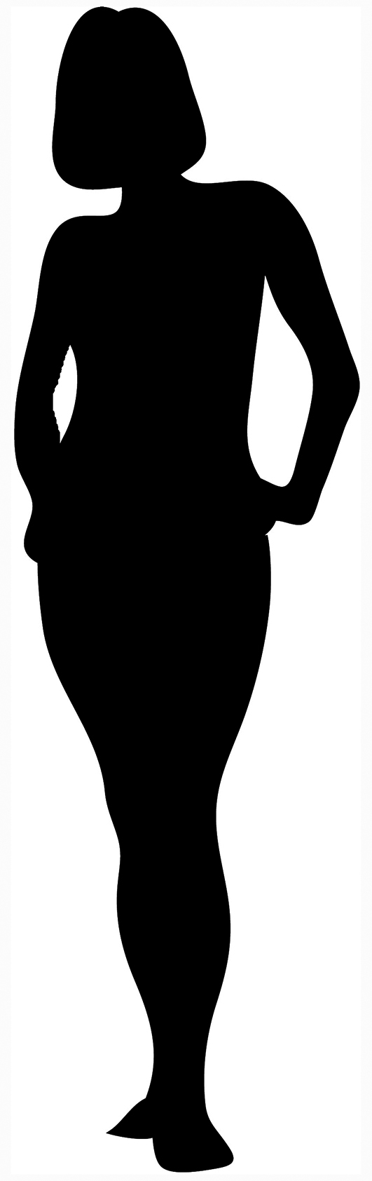 Black woman at getdrawings. Afro clipart silhouette