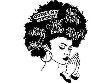 Afro clipart sketch. Black girl with drawing