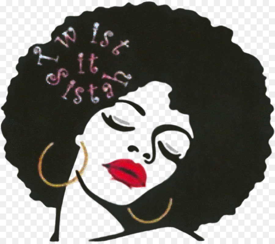 Afro clipart transparent. Textured hair hairstyle clip