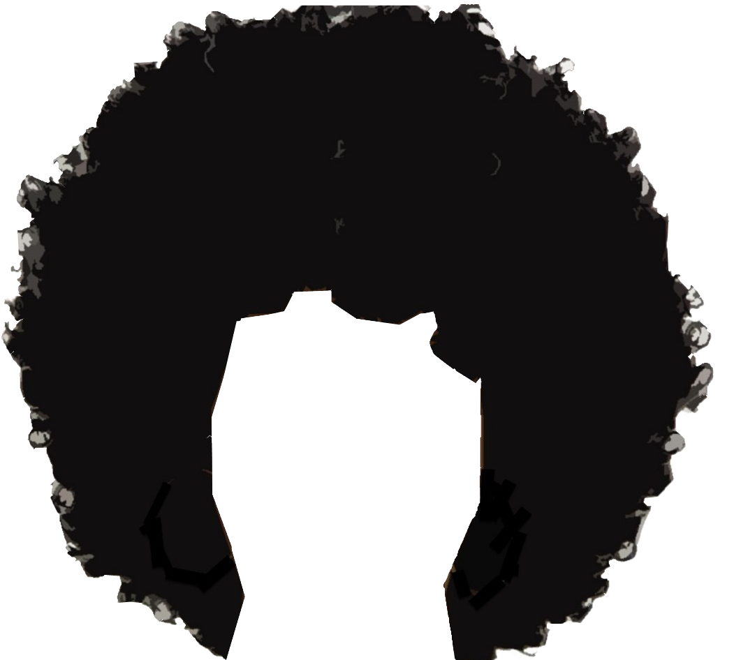 Free hair png images. Afro clipart transparent