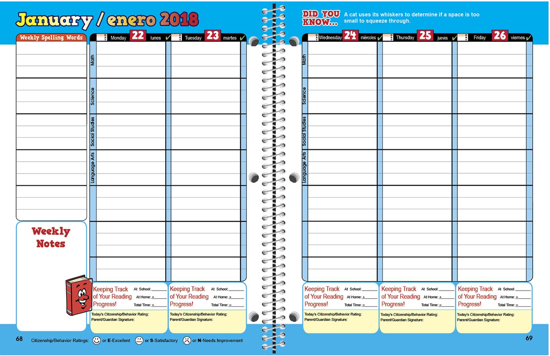 Free cliparts download clip. Planner clipart agenda student