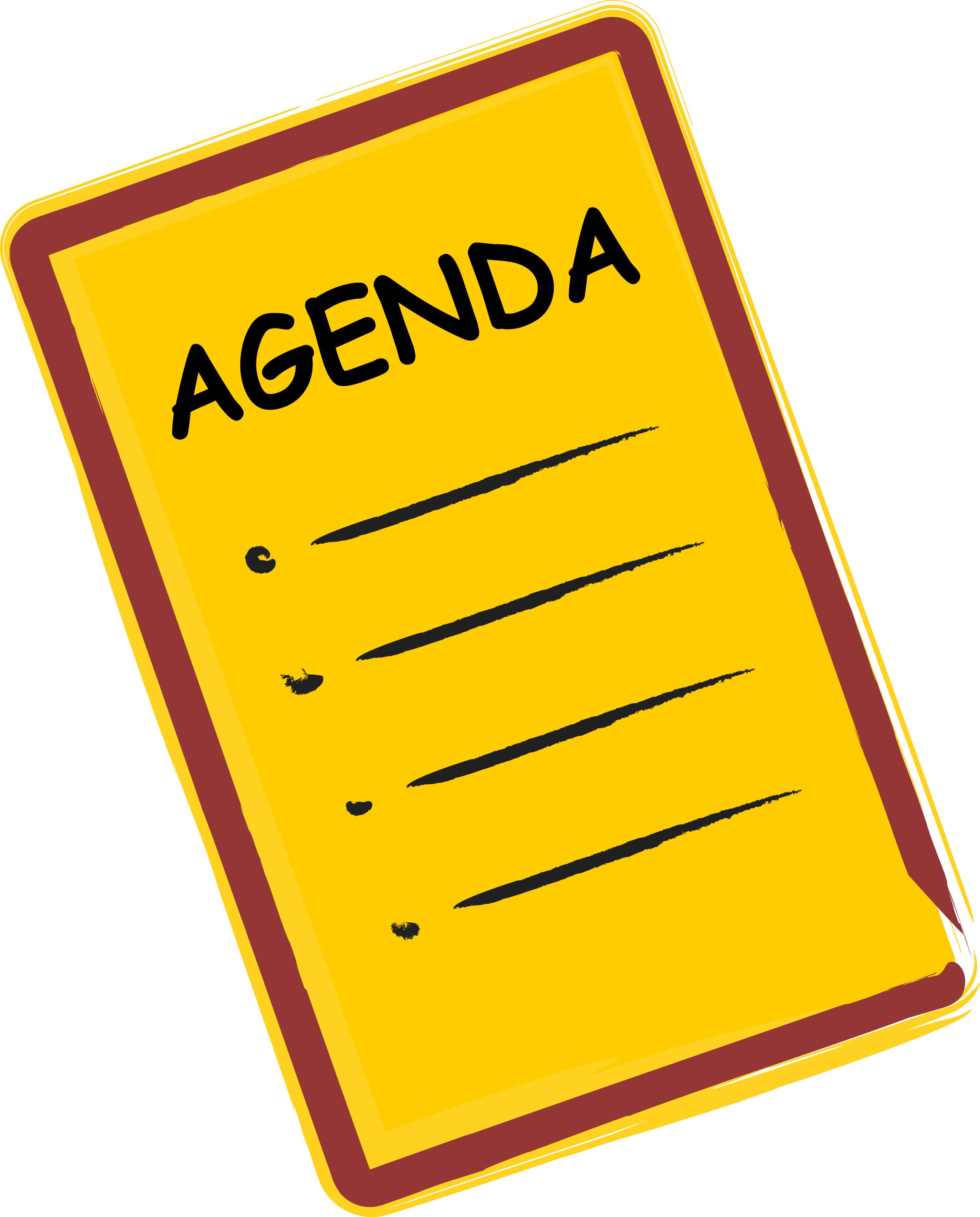 agendas planners images. Planner clipart animated