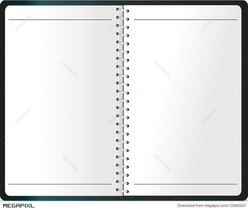 Binding vector illustration megapixl. Agenda clipart assignment notebook