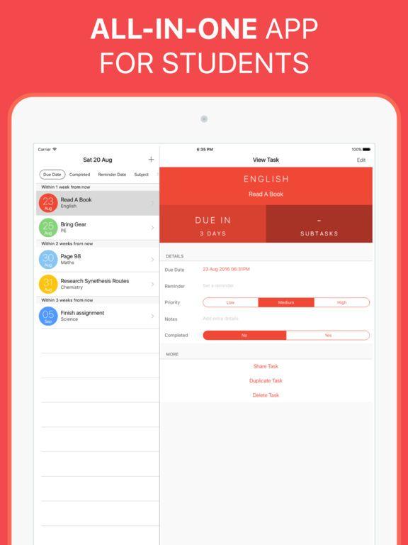 Agenda clipart assignment notebook. The homework app your