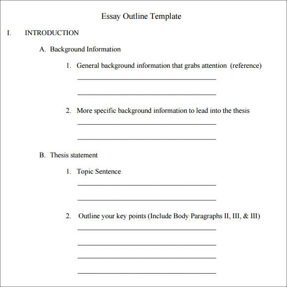 Agenda clipart essay outline. Blank template incep imagine