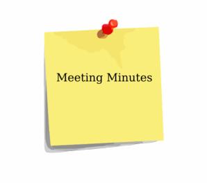 Van vorst park association. Essay clipart meeting minute