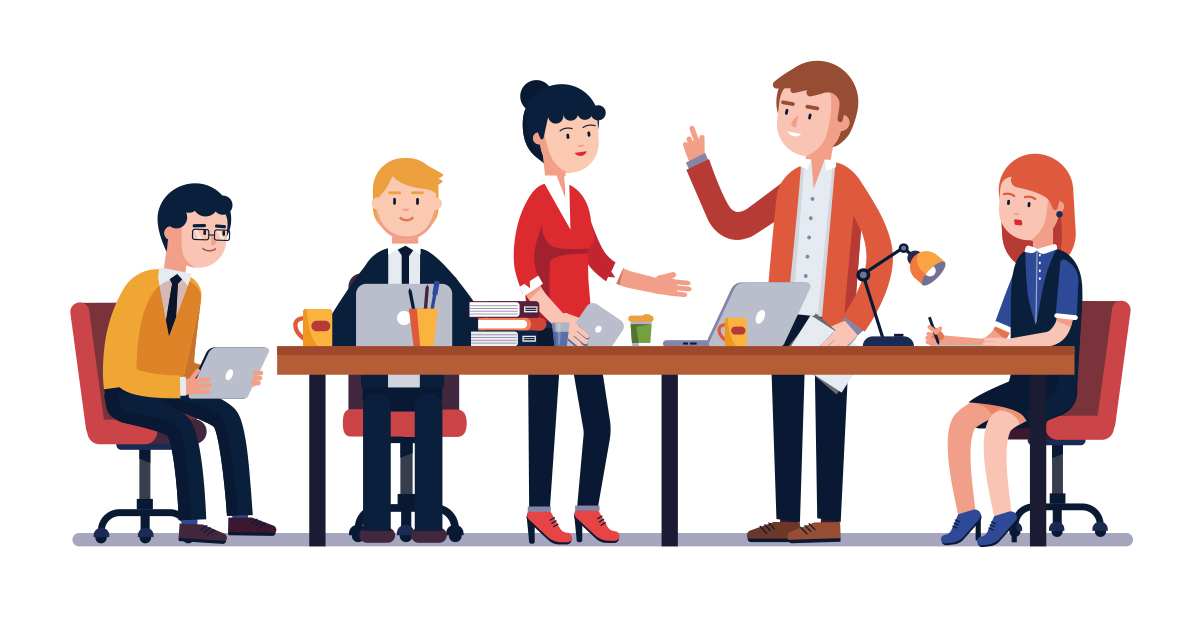creative ways to. Conference clipart small meeting