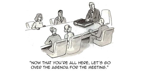 Agenda clipart meeting table. Three reasons agendas help