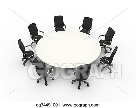 Stock illustration d empty. Business clipart conference