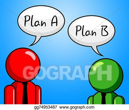 Agenda clipart plan. Stock illustrations b indicates