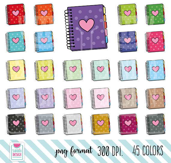 doodle personal and. Agenda clipart planner