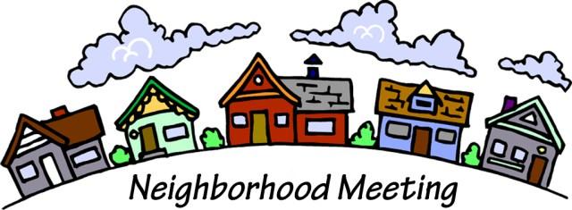 annual summary park. Agenda clipart resident meeting
