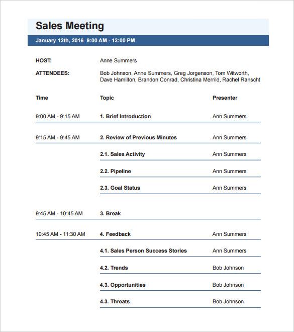 Agenda clipart written document. Simple meeting template word