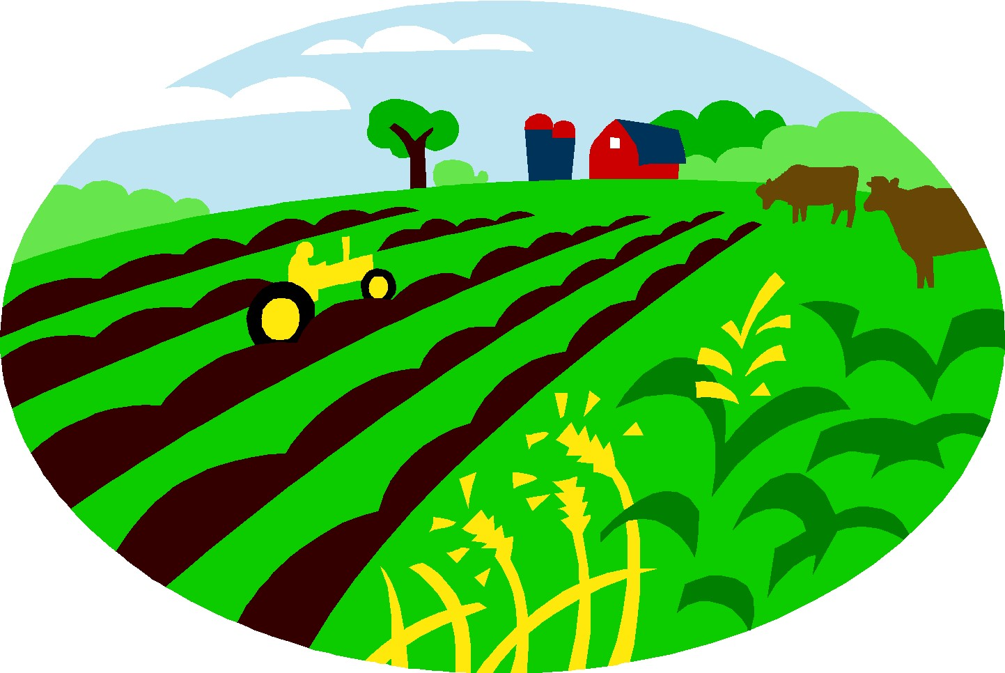 Agriculture clipart. Station