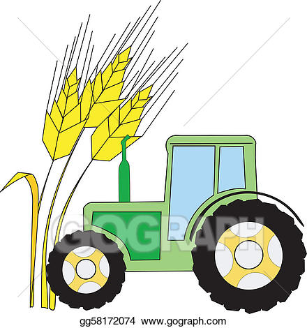 Vector art symbol of. Agriculture clipart