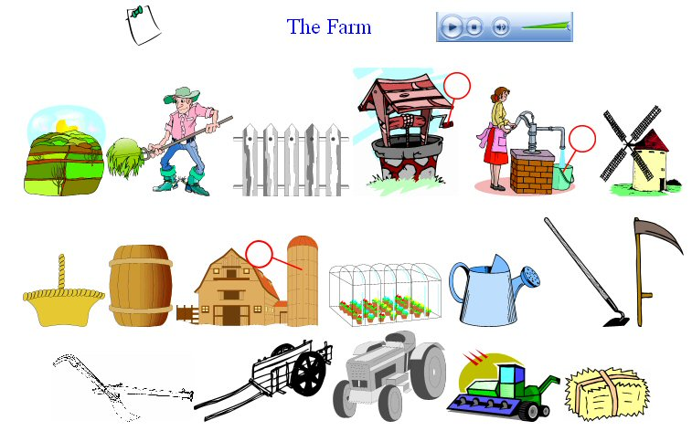 The country esl resources. Farming clipart agricultural activity