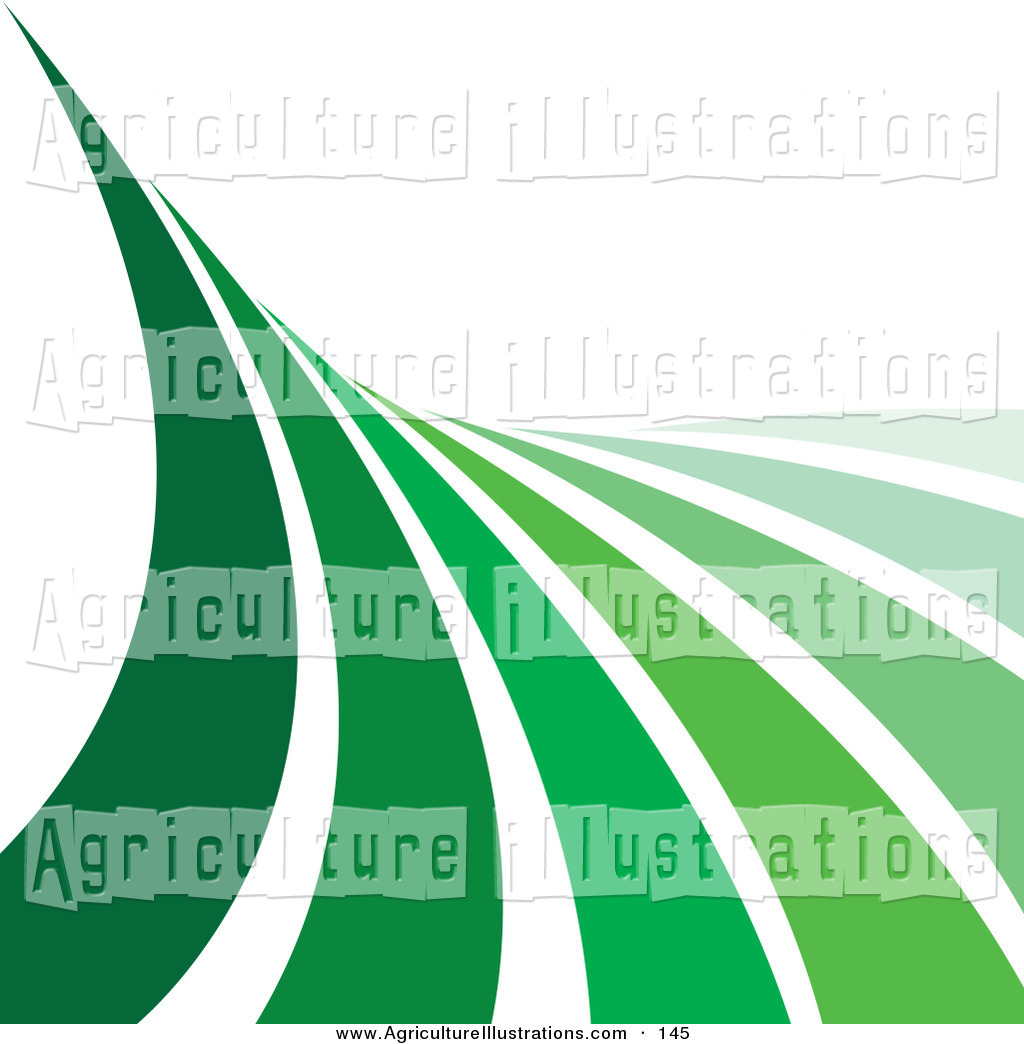 Agriculture clipart agriculture background. Of a wave green