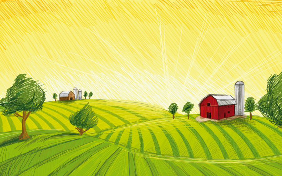 Family tree farmer nature. Agriculture clipart agriculture background