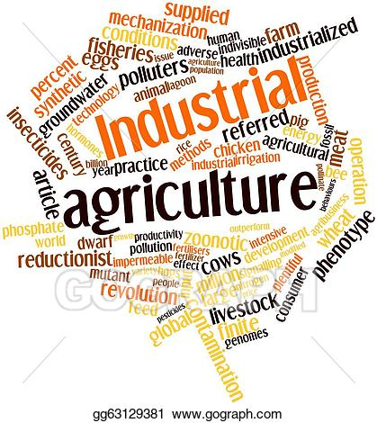 Drawing industrial gg gograph. Agriculture clipart agriculture industry
