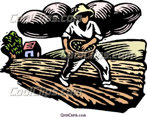 Woodcut farming clip art. Agriculture clipart agriculture industry