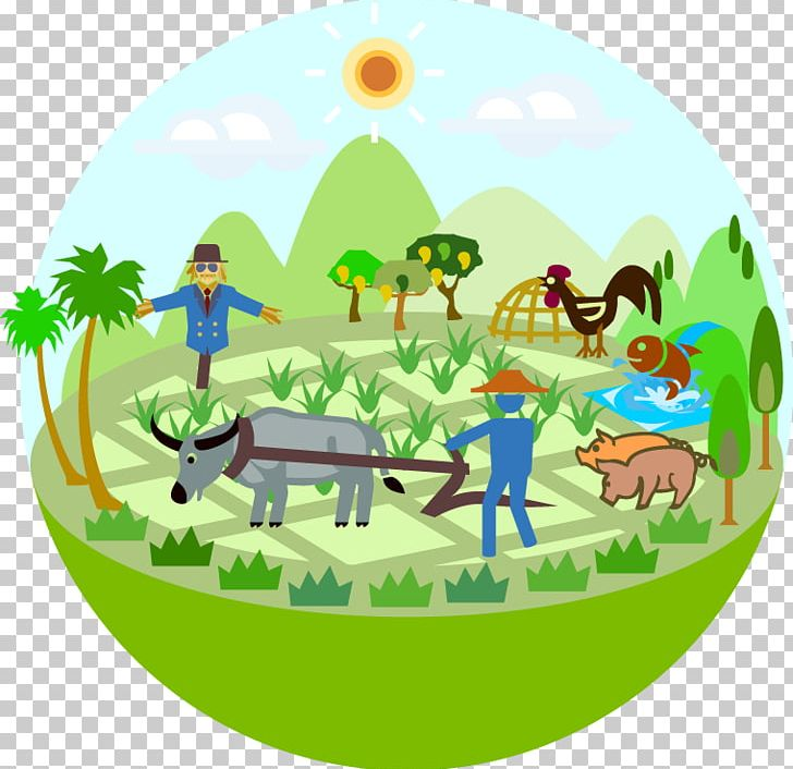 Conservation farmer cartoon png. Agriculture clipart animated