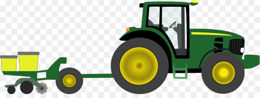 Agriculture clipart animated. John deere tractor pulling