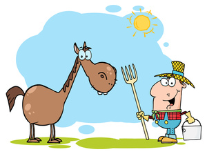 Farmer cartoon drawing at. Agriculture clipart animated