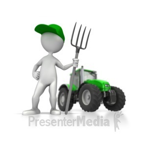 Presenter media powerpoint templates. Agriculture clipart animated