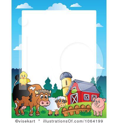 Agriculture clipart border. Clip art borders farm