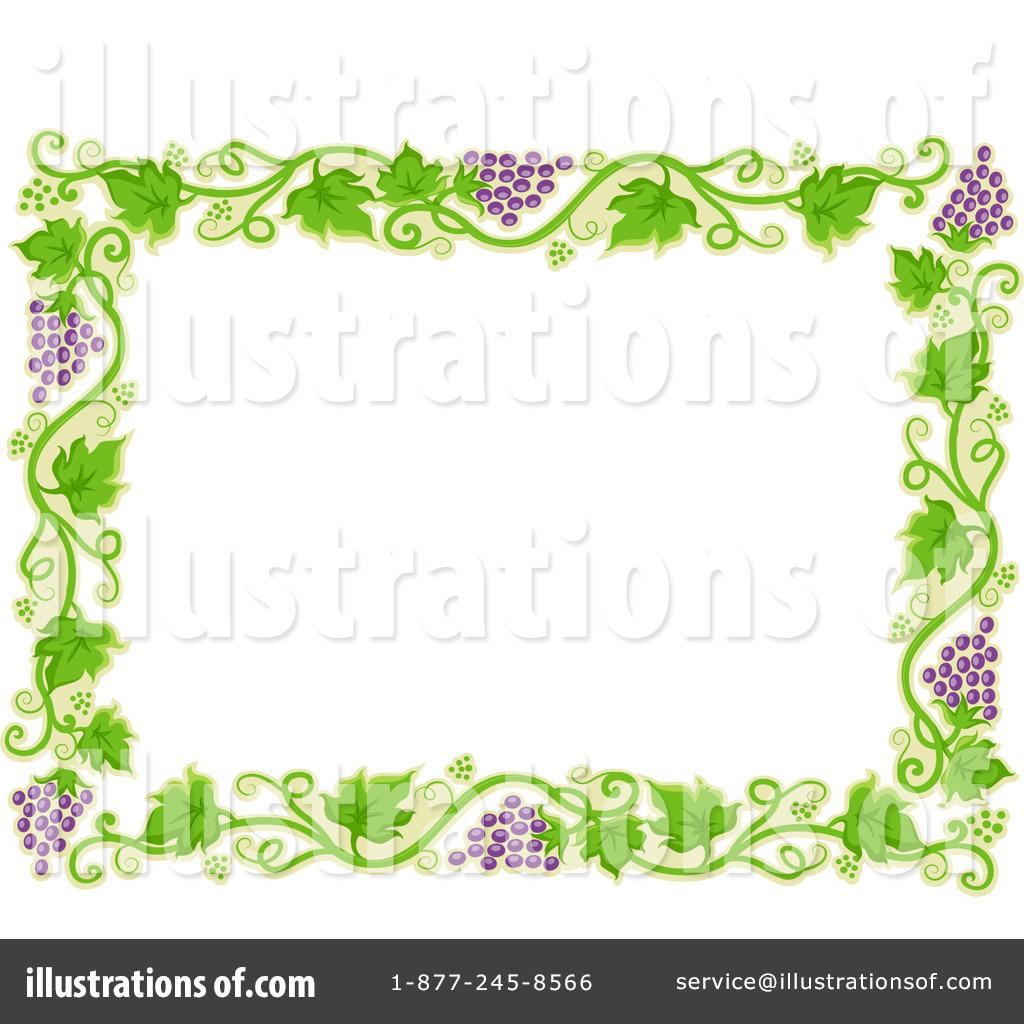 Illustration by bnp design. Agriculture clipart border
