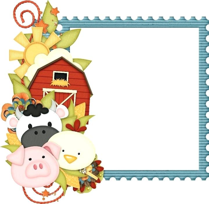 Free farm clip art. Agriculture clipart border