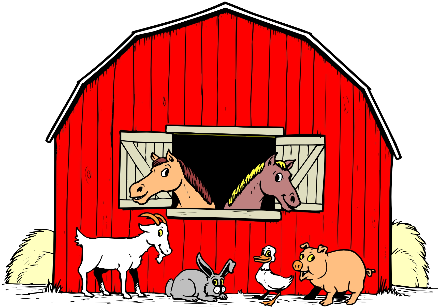 Farming clipart petting farm. Free animated cliparts download