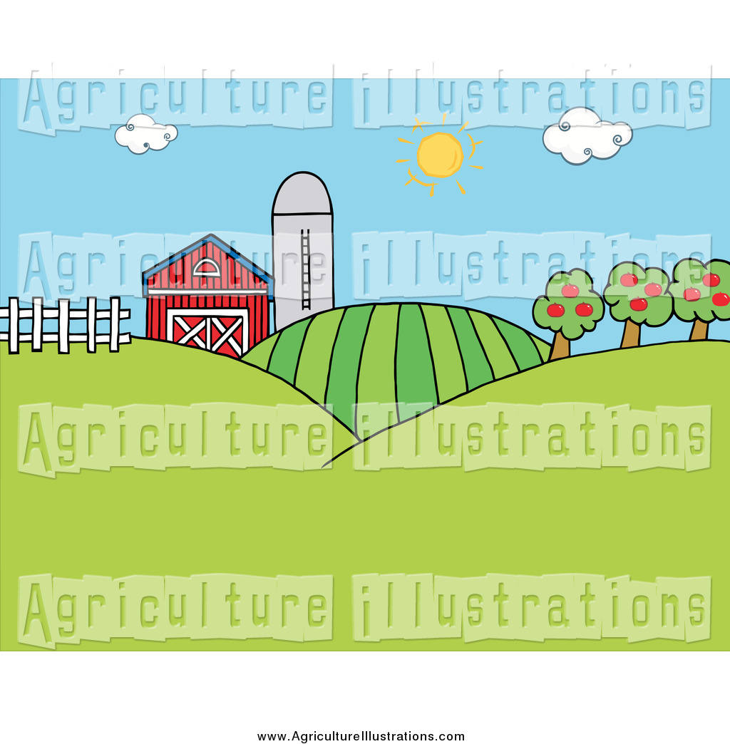 Agriculture clipart crop. Of the sun shining