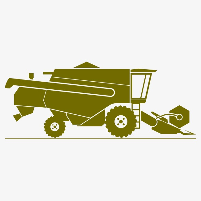 Agricultural vehicles cultivate sowing. Agriculture clipart cultivation