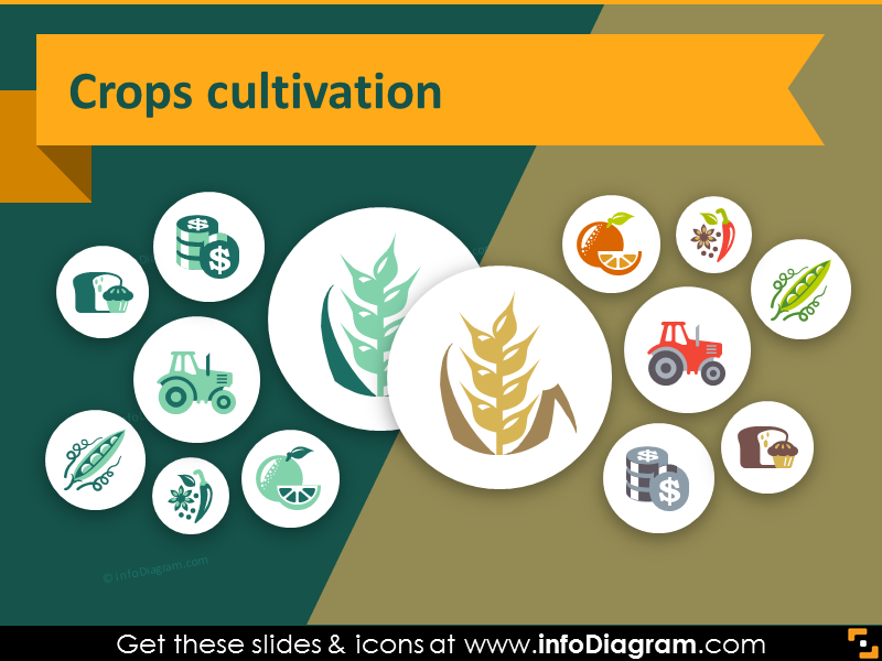 Agriculture clipart cultivation.  icons farming crop