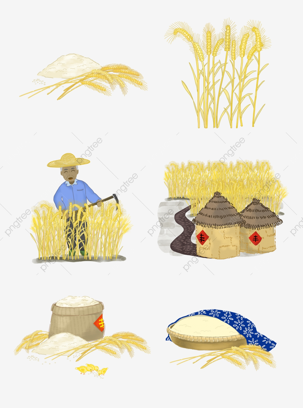 Agriculture clipart cultivation. Commercial agricultural grain granary