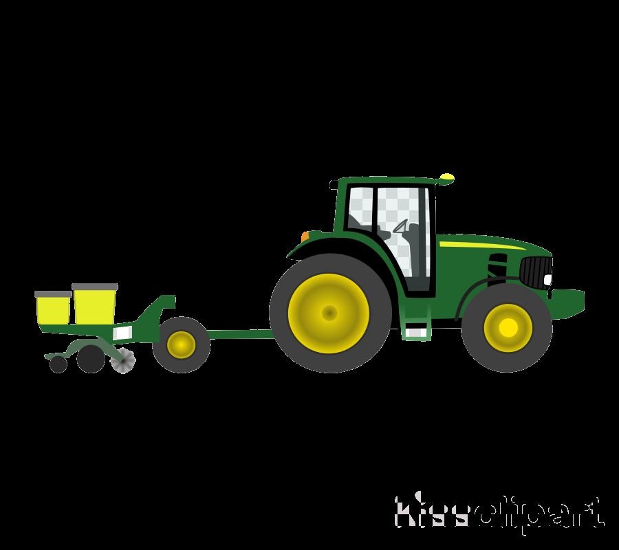 John deere farm tractor. Farming clipart agriculture machine