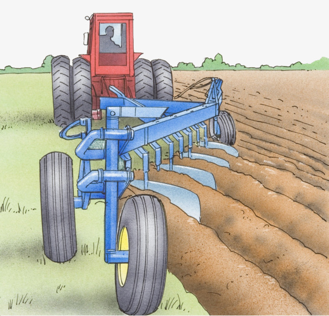 Agriculture clipart farm machinery. Illustration farming farmland agricultural