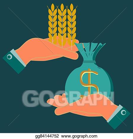 Agriculture clipart food. Clip art vector ears